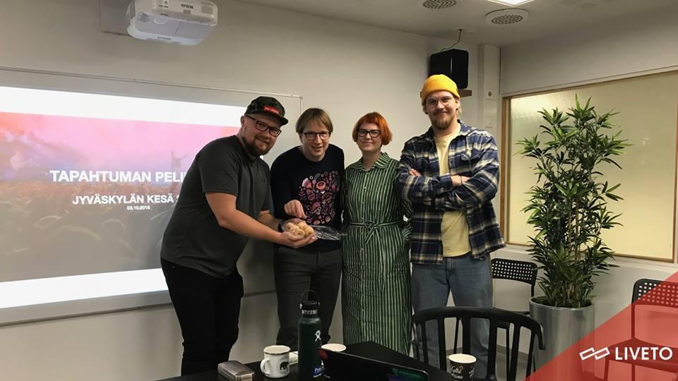 Liveton Tapahtuman Pelikirja -Jyväskylän Kesä